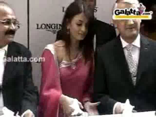 2006 Longines Boutique Opening in Chennai