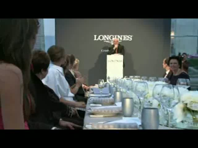 2010 Longines Charity Dinner