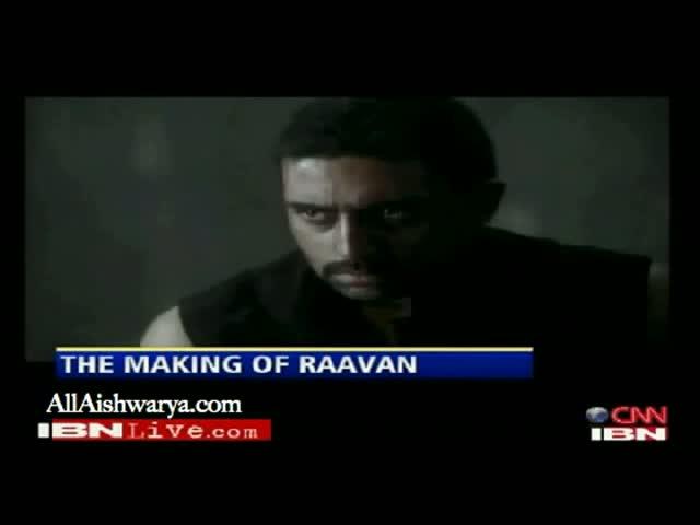CNNIBN - Making of Raavan (2010)
