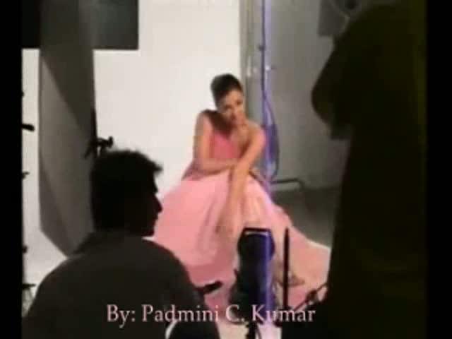 Aishwarya at a Lux Shoot